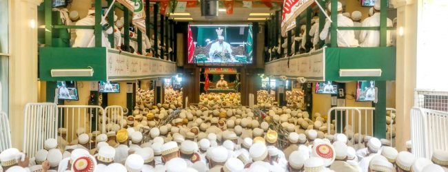 Annual congregation of Dawoodi Bohra Community in Sri Lanka