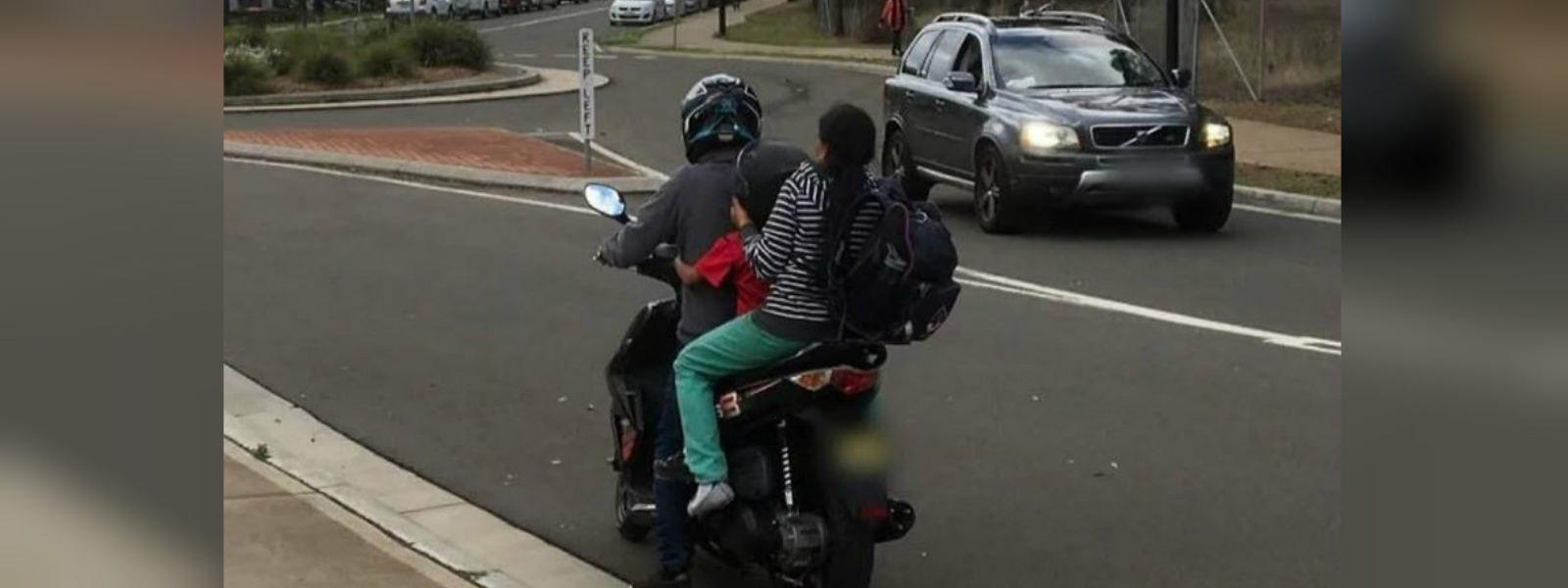 'Unaware of rules', Indian couple caught riding with a child in Sydney