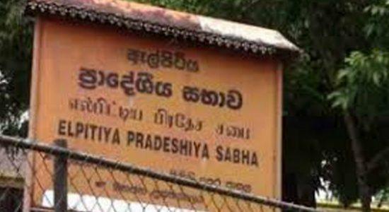 Elpitiya Pradeshiya Saba elections on the 11th of October: reports of violation of election laws