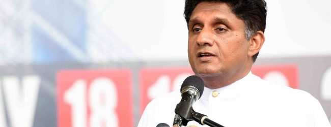 """I will make your lives prosper in the future"": Minister Sajith Premadasa"