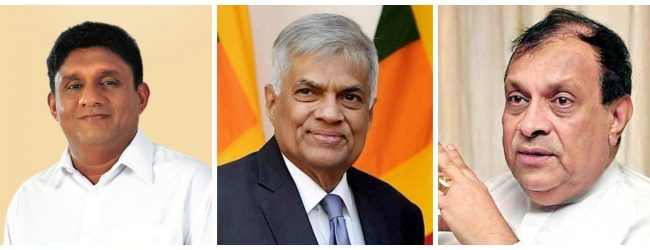Ranil, Sajith and Karu meet to agree on presidential candidate?