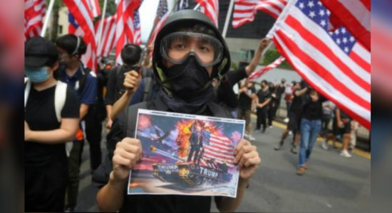 Hong Kong protesters gather ahead of planned march to U.S. consulate