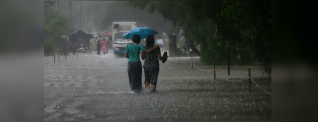Heavy rainfall above 100mm for 3 provinces