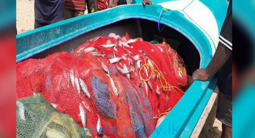 Navy apprehends 15 persons for engaging in illegal fishing activities