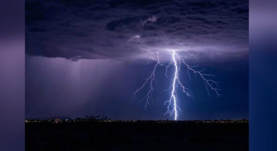 Lightning strikes a house in Morawaka: One dead another injured
