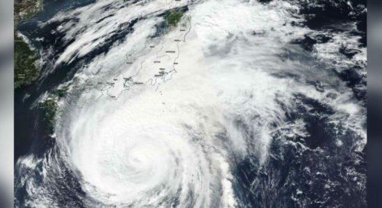 Typhoon Hagibis hits Japan : Seven million instructed to evacuate