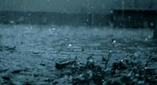 100 mm heavy rainfall to be expected in several parts of the island