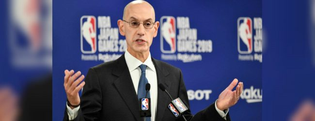 NBA Commissioner says China fallout caused large financial loss