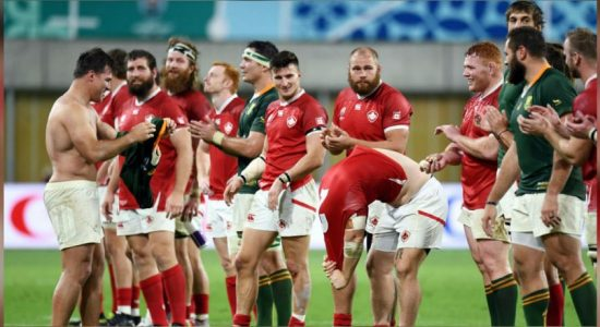 Springboks overwhelm Canada to storm into World Cup quarter-finals