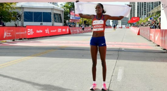 Brigid Kosgei smashes women's marathon world record