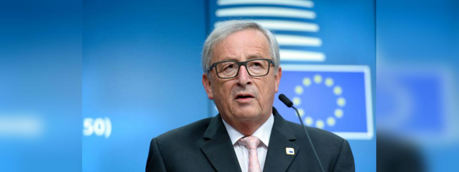 Everybody understands English, but not England jokes EU's Juncker
