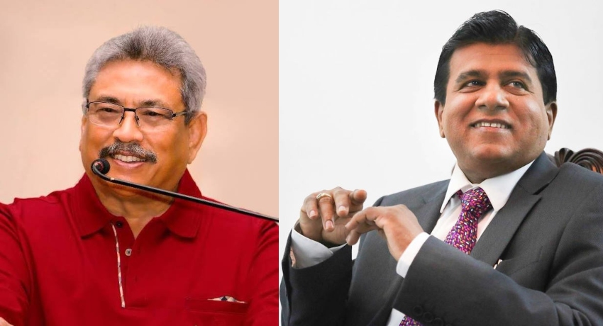 Wijeyadasa Rajapakshe extends his support to Gotabaya Rajapaksa