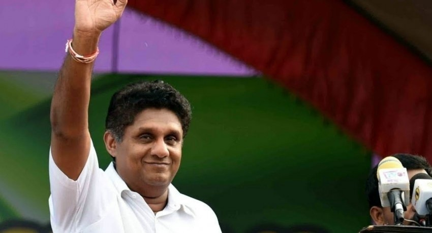 Sajith Premadasa's inaugural rally in Galle Face: promises to assign Sarath Fonseka to ensure national security