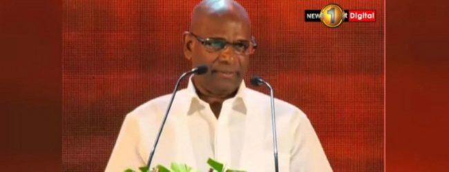 NPP candidate General Mahesh Senanayake unveils his election manifesto