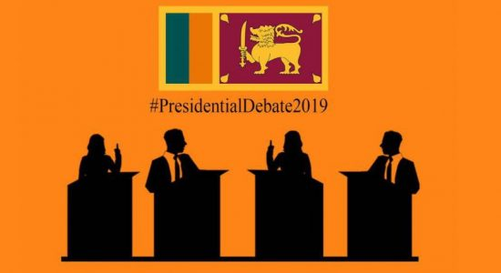 Presidential candidates on one platform today