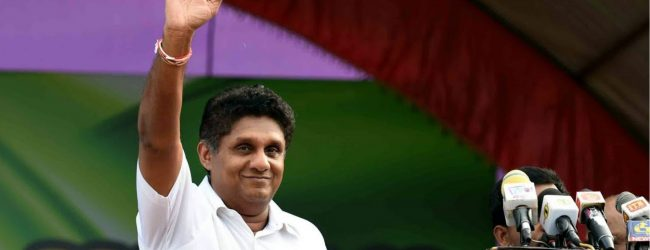 Militarilization or peaceful country? Its up to you : Sajith Premadasa