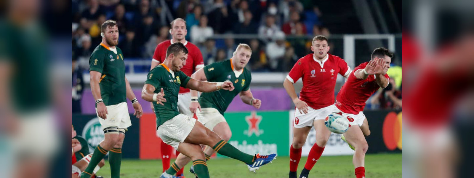 Springbok enters the RWC 2019 finale beating Wales 19-16