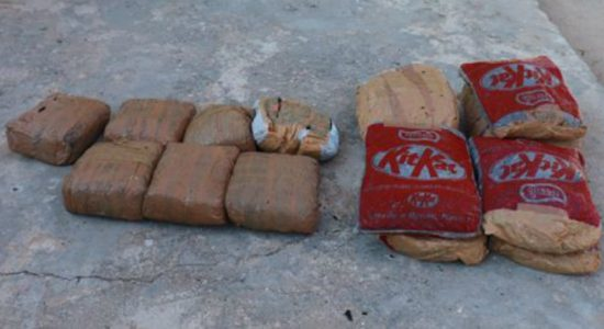 Navy arrests 2 persons with 45kg of Kerala ganga
