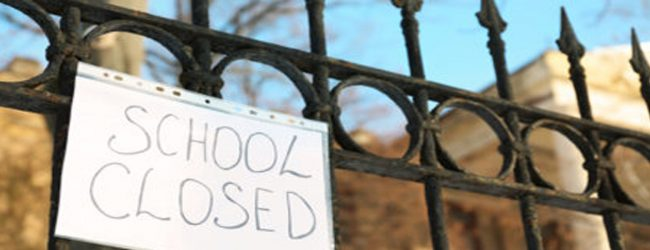 Schools in Hambantota and Mulatiyana to remain closed