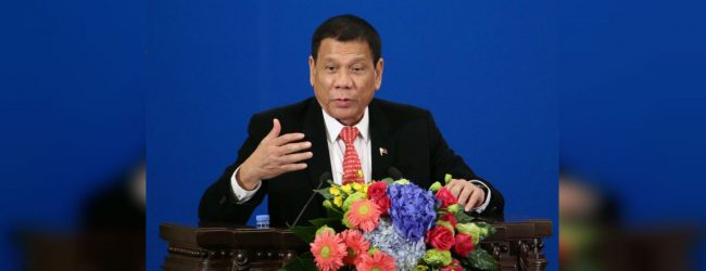 Philippines' Duterte admits to neuromuscular disorder