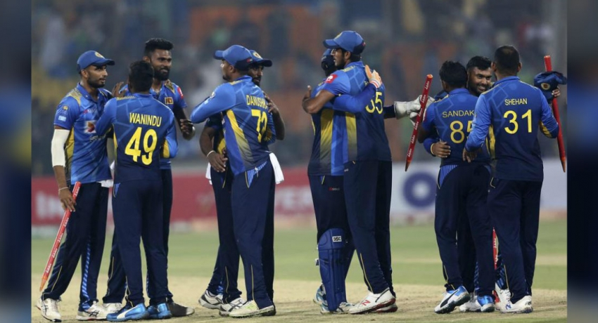 Sri Lanka beat Pakistan in a T20 after 6 years