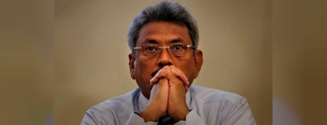 Gotabaya's maiden campaign rally at Anuradhapura today