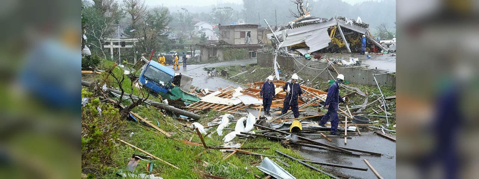 Typhoon Hagibis batters Japan; 26 people reported dead so far