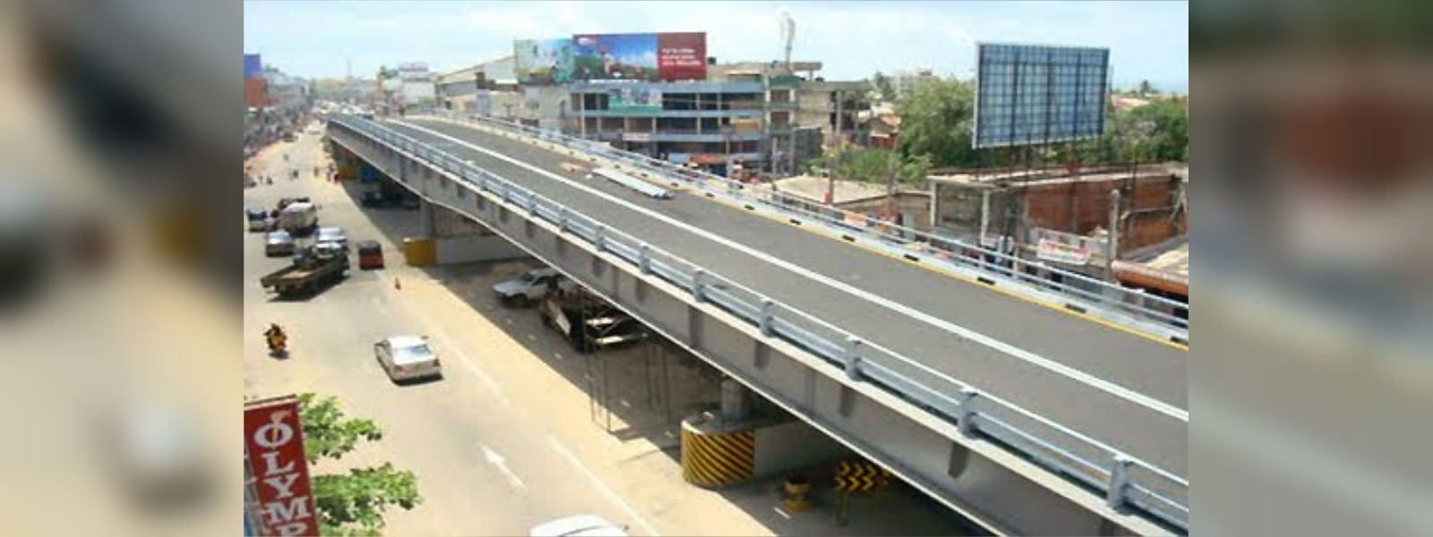 Motor cycles banned from the Dehiwala flyover