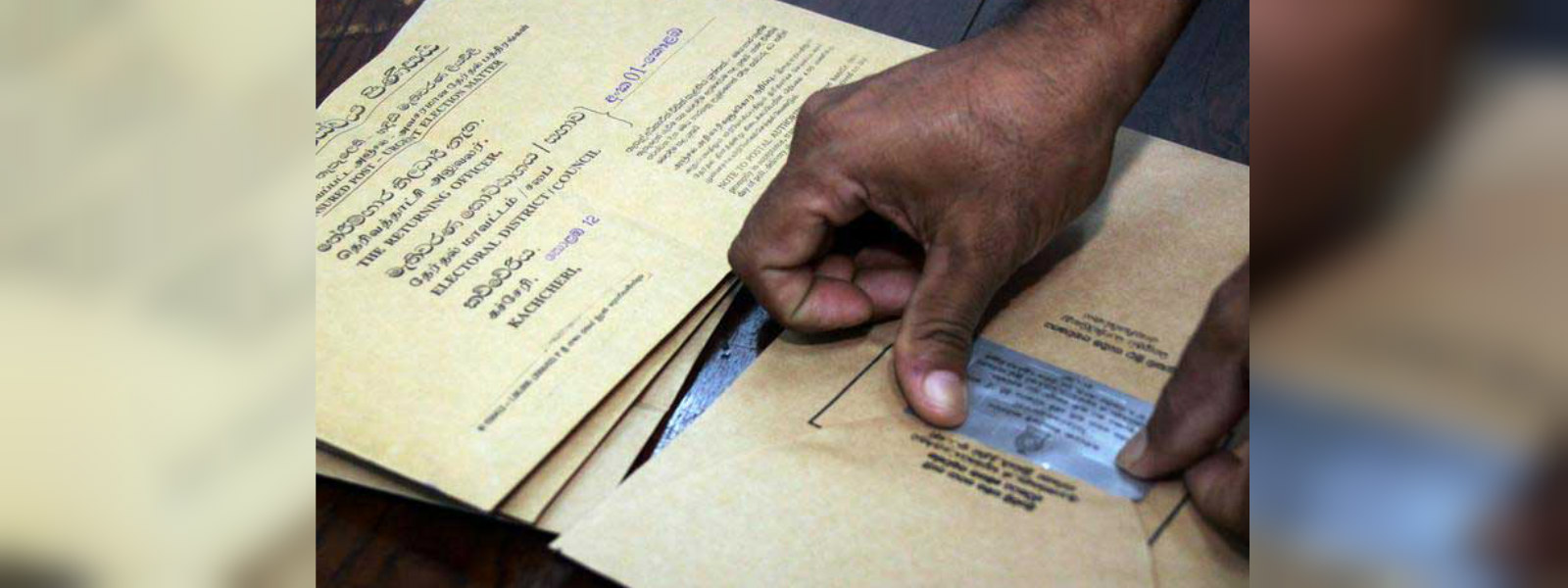 Polling card distribution begins tomorrow