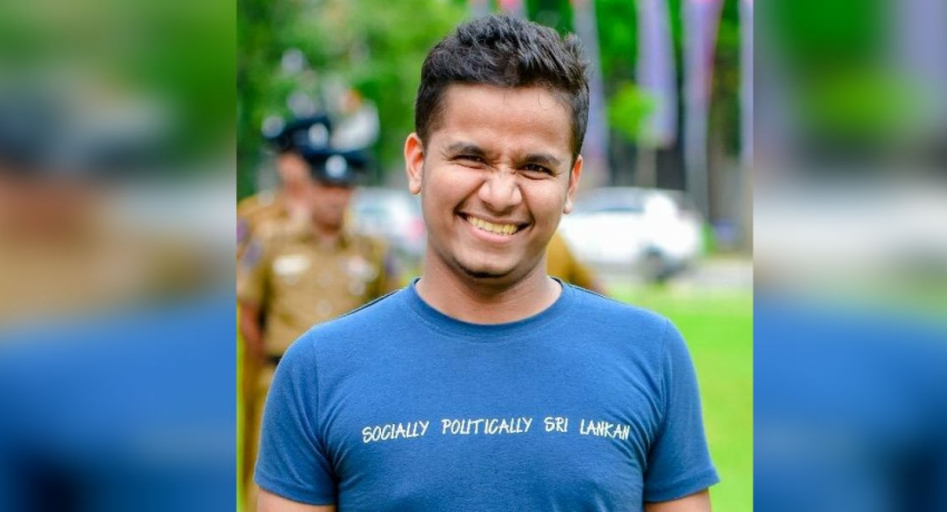 Youtuber Ashen Senaratne threatened : lodges a complaint