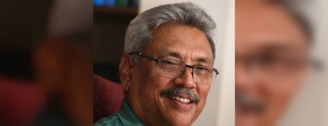 """We will change the political culture of the country"" : Gotabaya Rajapakse"