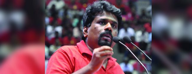 A country with equal law for everyone regardless of power : Anura Kumara Dissanayaka