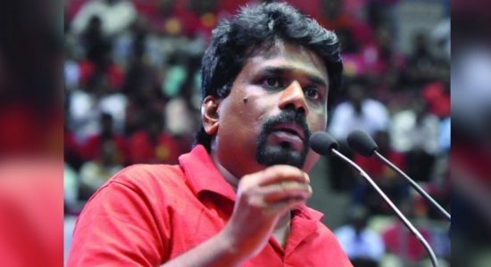 """Even though they fight they steal together"": Anura Kumara Dissanayake"