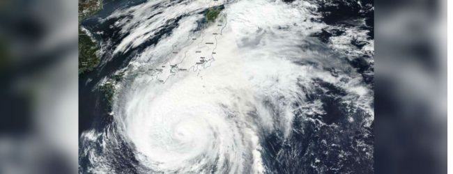 Typhoon Hagibis hits Japan : Seven million instructed to evacuate
