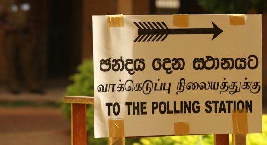 Elpitiya Pradeshiya Sabha elections begin