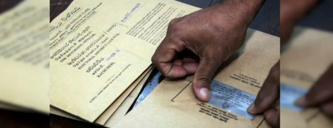 Postal voting to be held today and tomorrow