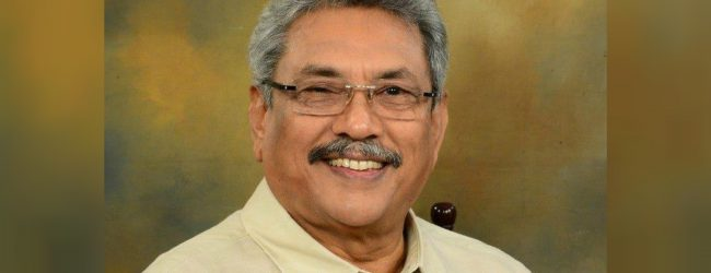 Gotabaya Rajapaksa engages in religious observances