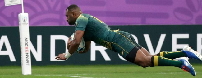 Australia beat Uruguay 45-10 in Rugby World Cup