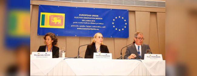 EU deploys Election Observation Mission in Sri Lanka