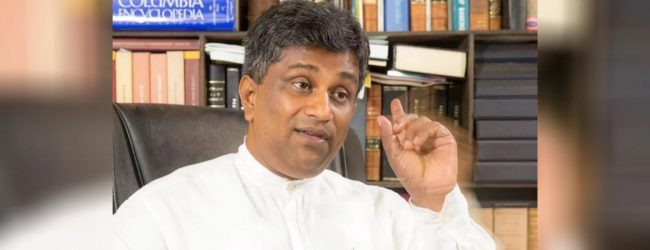 Ajith Perera files a complaint against the SLPP presidential campaign