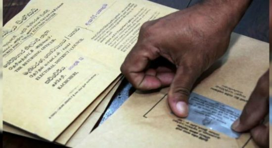 Postal ballot papers handed over to post offices today