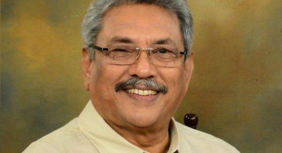 Gotabaya Rajapaksa engages in religious observances