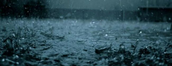 Rainy weather to intensify