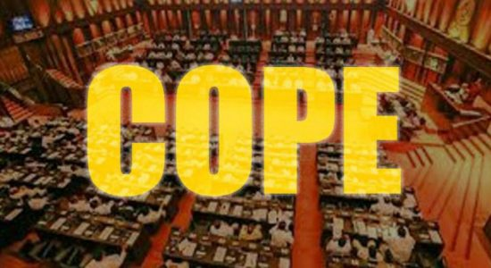 COPE report on 23 State Institutions to be presented in Parlimanet