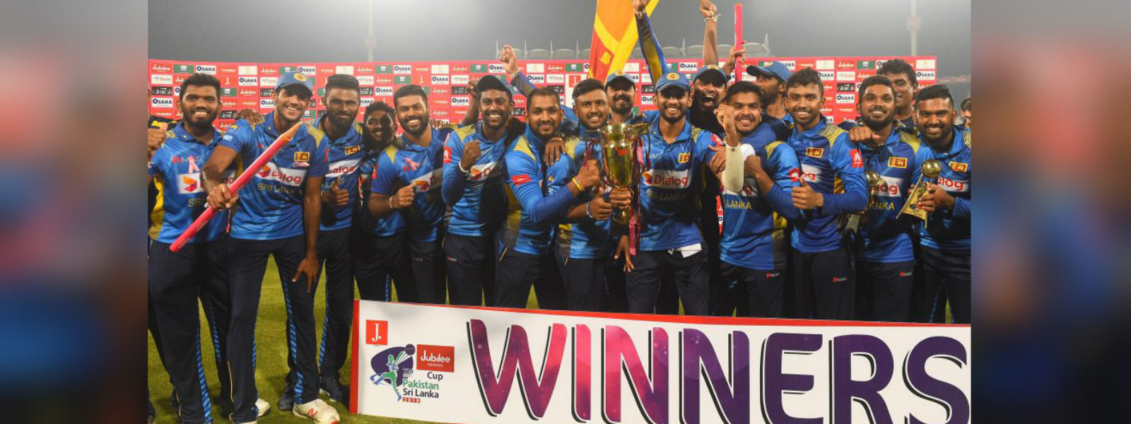 Sri Lanka Cricket team arrives in the country following successful tour of Pakistan