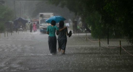 Rain to continue : 75 – 100 mm in most parts of the country