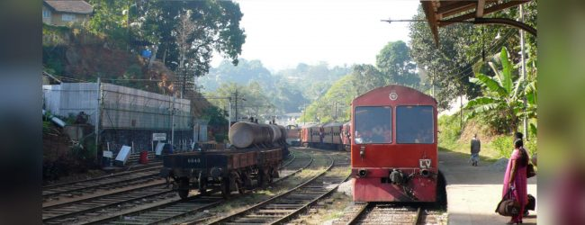 Train services yet to be restored completely