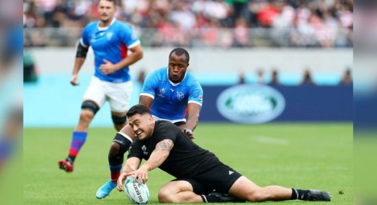 All Blacks run in 71 points against Namibia