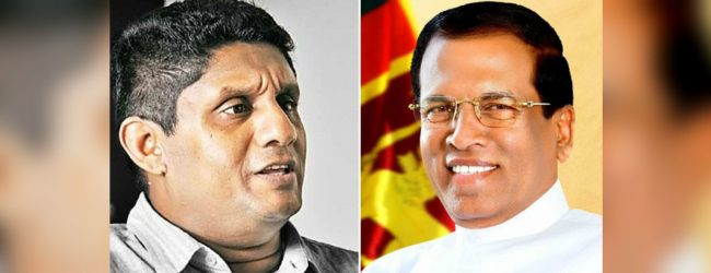 Talks between Sajith and the President