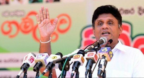 Sajith Premadasa challenges Gotabaya Rajapaksa for a debate on National Television